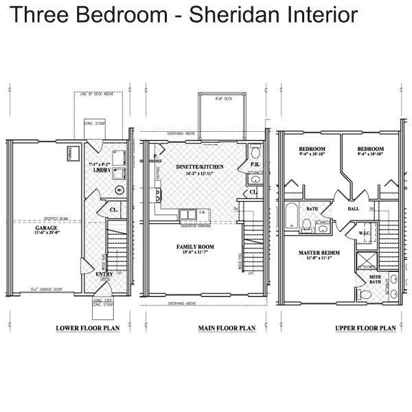 Keystone Arms Floor Plan