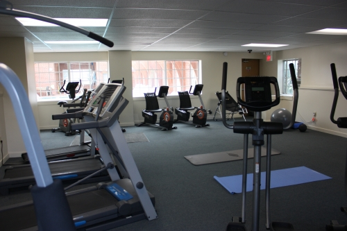 gym and workout room