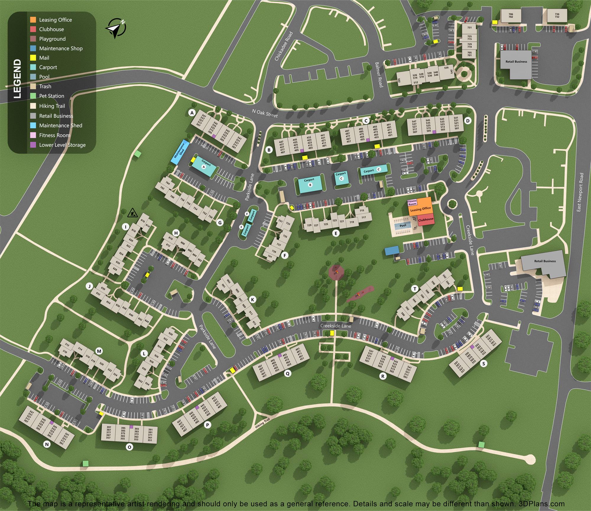 interactive property map thumbnail